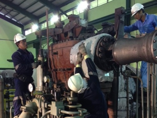Overhaul Steam Turbine Siemens